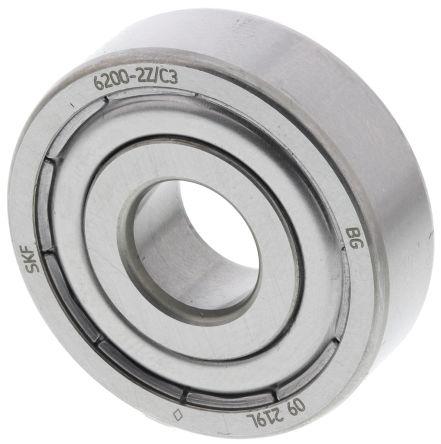 30 ID SKF Radial Deep Groove Ball Bearing Bearing steel