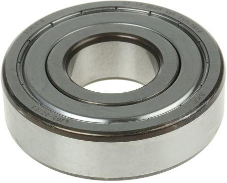 BEARING 6305-2Z METAL SHIELDED ID 25mm OD 62mm WIDTH 17mm