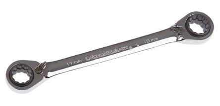 2586 Long Polished Combination 24mm Laser Spanner