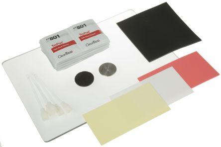 Miller Polishing Kit Containing Lexan Polishing Plate, Lint-Free Cleaning Wipe x 25, Neoprene Polishing Pad, Plastic
