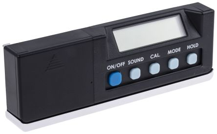 RS PRO 175mm LCD Inclinometer
