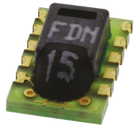 Sensirion SHT15, Temperature & Humidity Sensor -40 → +123 8 °C ±0 3°C  Serial, 8-Pin LCC