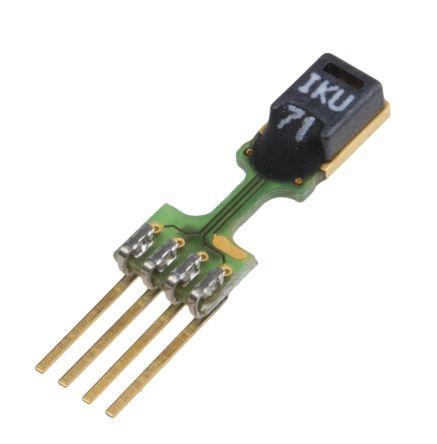 Sensirion SHT71, Temperature & Humidity Sensor -40 → +123 8 °C 3% Serial,  4-Pin SIP