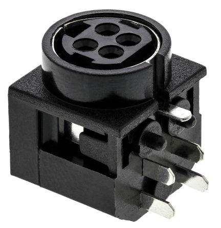 KPJX Series, Right Angle DC Power Socket 7.5A product photo