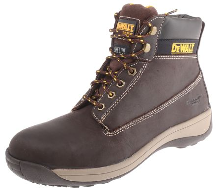 756715d49ae Dewalt Apprentice Steel Toe Safety Shoes, UK 9, EUR 43, Resistant To  Chemical, Heat, Oil, Petrol, US 10 Anti-Slip No