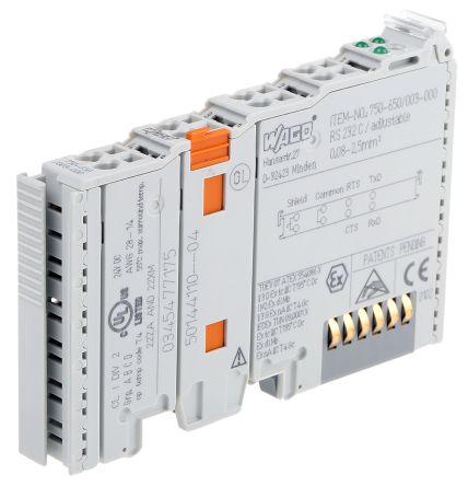 Wago I/O SYSTEM 750 PLC I/O Module 24 V dc, 64 x 12 x 100 mm