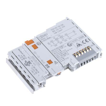 Wago I/O SYSTEM 750 PLC I/O Module 8 (Channel) Outputs 24 V dc, 100 x 12 x  64 mm