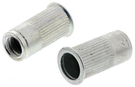 AVK Plain, M5 Threaded Insert, 8.64mm diameter 7.6mm Depth 8mm