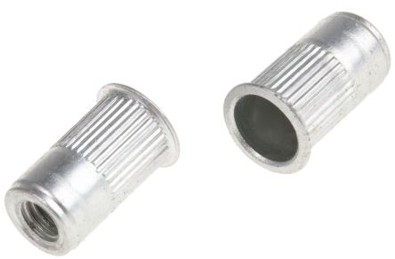AVK Plain, M6 Threaded Insert, 11.56mm diameter 10mm Depth 9.65mm