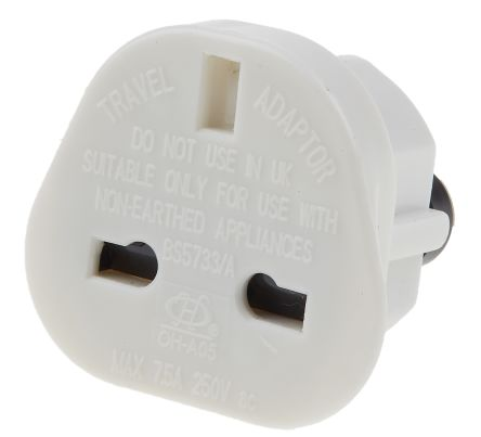 698 Ppk Mk Uk To Uk Plug Adapter With Type G British 3