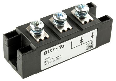 MDD172-08N1 IXYS | IXYS MDD172-08N1 Diyot Modülü, İkili, Panele Monte, Seri, 800V, 190A, 3-Pinli Y4 M6 | 668-7123 | RS Online'a Hoşgeldiniz