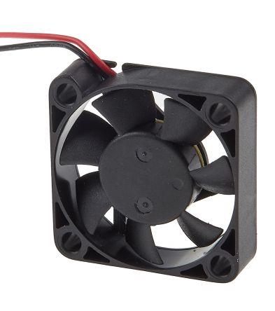RS PRO, 12 V dc, DC Axial Fan, 40 x 40 x 10mm, 11.4m³/h, 1.2W
