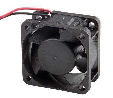 RS PRO Axial Fan, 40 x 40 x 20mm, 9cfm, 1 7W, 24 V dc
