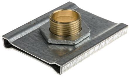 rs pro galvanised steel 50 x 50mm lighting trunking suspension unit