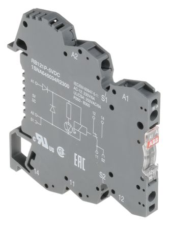 SPDT DIN Rail Interface Relay Module Screw
