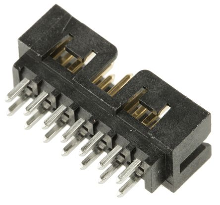 Molex Milli-Grid 87831, 14 Way, 2 Row, Straight PCB Header