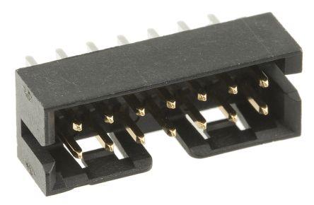Molex MILLI-GRID 87831, 2mm Pitch, 14 Way, 2 Row, Straight PCB Header, Through Hole
