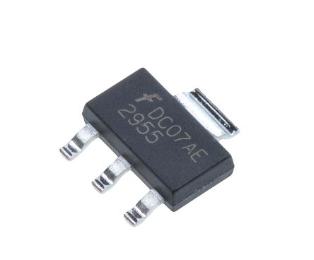 3-Pin DPAK 60 V ON Semiconductor NTD2955T4G P-channel MOSFET 12 A