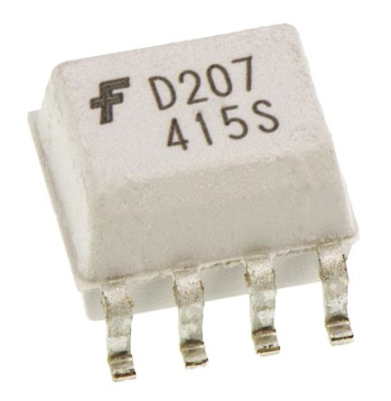 ON Semiconductor, MOCD207M DC Input Transistor Output Dual Optocoupler, Surface Mount, 8-Pin SOIC