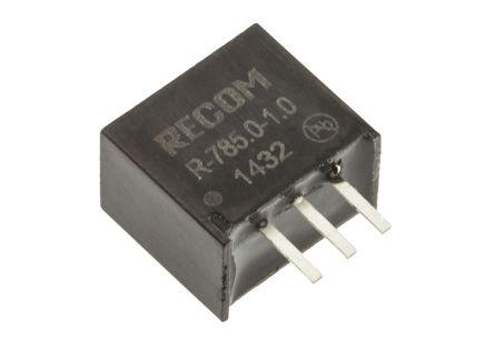 Recom Anahtarlamalı Regülatör, 6,5 → 18V / 5V 1A