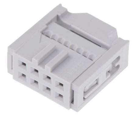 Amphenol FCI 8-Way IDC Connector Socket for Cable