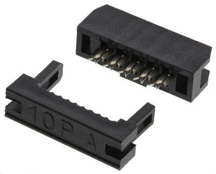 Cable idc socket strip
