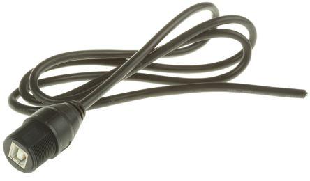 USB 2.0 Female USB B Female USB B USB Extension Cable, 1m product photo