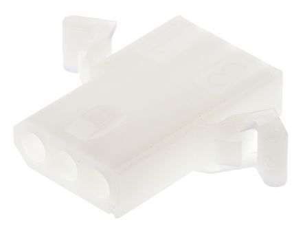 "03-06-1038 - Female Connector Housing - STANDARD .062"", 3.68mm Pitch, 3 Way, 1 Row product photo"
