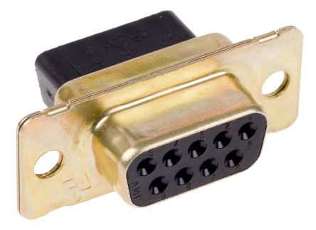 TE Connectivity, Amplimite HDP-20 9 Way Cable Mount D-sub Connector Socket