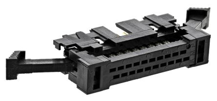 TE Connectivity 20-Way Connector Plug for Cable Mount, 2-Row