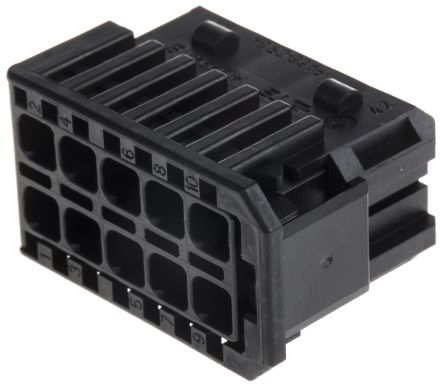 MCP 2.8 10 way receptacle housing, Key A