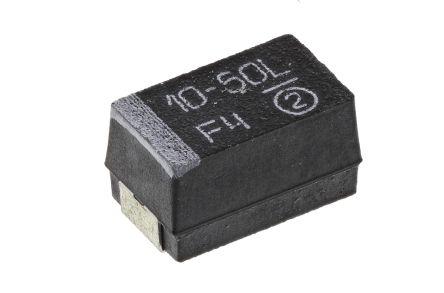 16 V ± 10 TR3 Series 5 X Surface Mount Tantalum Capacitor TANTAMOUNT® 10 µF