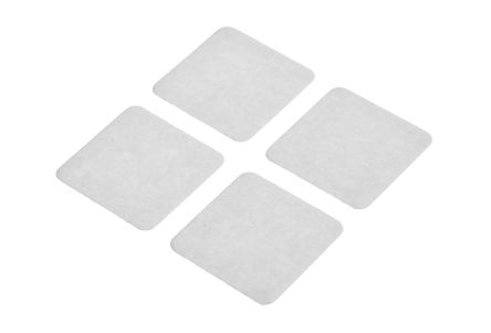 Transparent VST 4100CP Double Sided Adhesive Square, 30mm x 30mm product photo