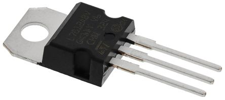 STMicroelectronics, 12 V Linear Voltage Regulator, 1A, 1-Channel, 2% 3-Pin, TO-220 L7812ABV