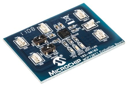 Microchip MCP73871EV Battery Charger for MCP73871