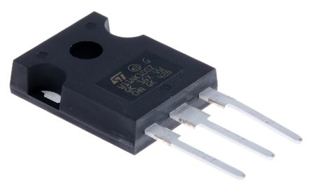 N-Channel MOSFET, 8.3 A, 1000 V, 3-Pin TO-247 STMicroelectronics STW11NK100Z