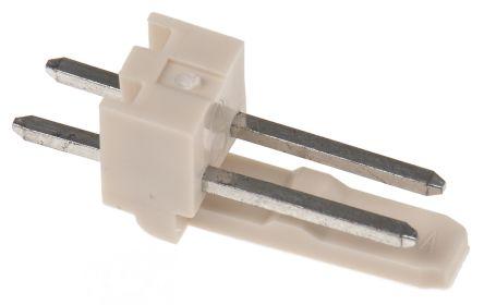 Molex Mini-Latch 5045, 2 5mm Pitch, 2 Way, 1 Row, Straight PCB Header,  Through Hole