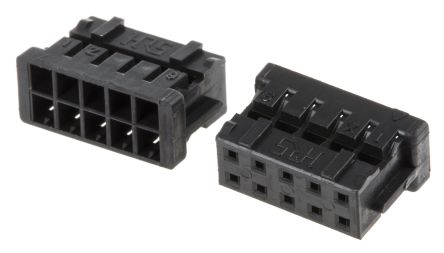 Hirose, DF11 Female Connector Housing, 2mm Pitch, 10 Way, 2 Row