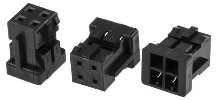 Hirose DF11 Female Connector Housing, 2mm Pitch, 4 Way, 2 Row