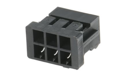 Hirose DF11 Female Connector Housing, 2mm Pitch, 6 Way, 2 Row