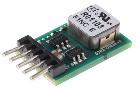 Non-Isolated DC-DC Converter 12V dc Input, 0.591 → 6V dc Output, 3A