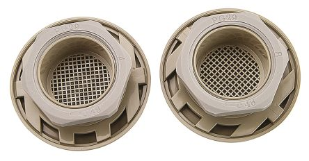 Grey Plastic Vent Grille, 63 x 63mm product photo