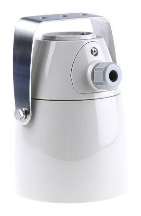 White Trumpet Horn, 12 → 24 V ac/dc Supply Voltage, 106dB at 1 Metre