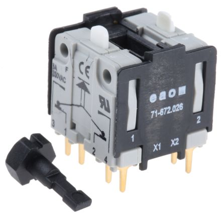 Push Button Switching Element for use with Push Button Switch