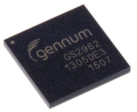 GS2962-IBE3, Video Encoder 1.2 V, 1.8 V, 3.3 V, 100-Pin BGA