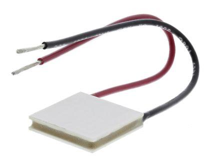 Adaptive 珀耳帖模块 ETC-031-14-11-E, 20W制冷能力, +72K最大温差, 8.5A, 3.8V, 20 x 20mm