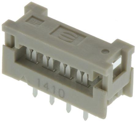 T812114a101ceu Amphenol 14 Way Idc Connector Socket For