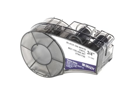Brady Cable Label Refill Labels, For Use With BMP21 Label Printers, ID PAL Label Printers, LABPAL Label Printers