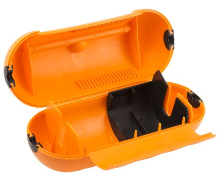 Orange Splashproof Housing for use with Power Connector