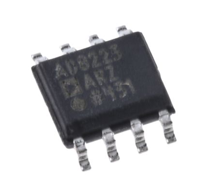 Analog Devices AD8223ARZ, Instrumentation Amplifier, 0.25mV Offset, R-RO, 3 → 24 V, 8-Pin SOIC